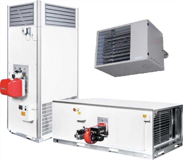 Газовый теплогенератор воздушного отопления