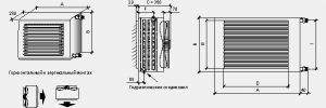 Aerotherm-технические данные