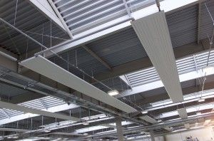 Водяные инфракрасные потолочные панели