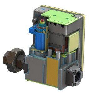 Газовый клапан теплогенератора Carlieuklima