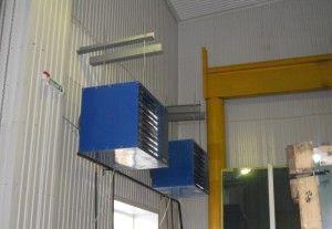Монтаж воздушного отопления подключ