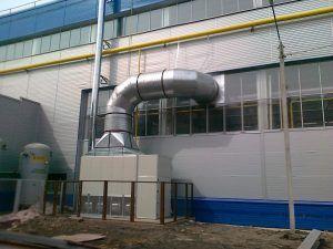 Монтаж воздушного отопления в Саратове