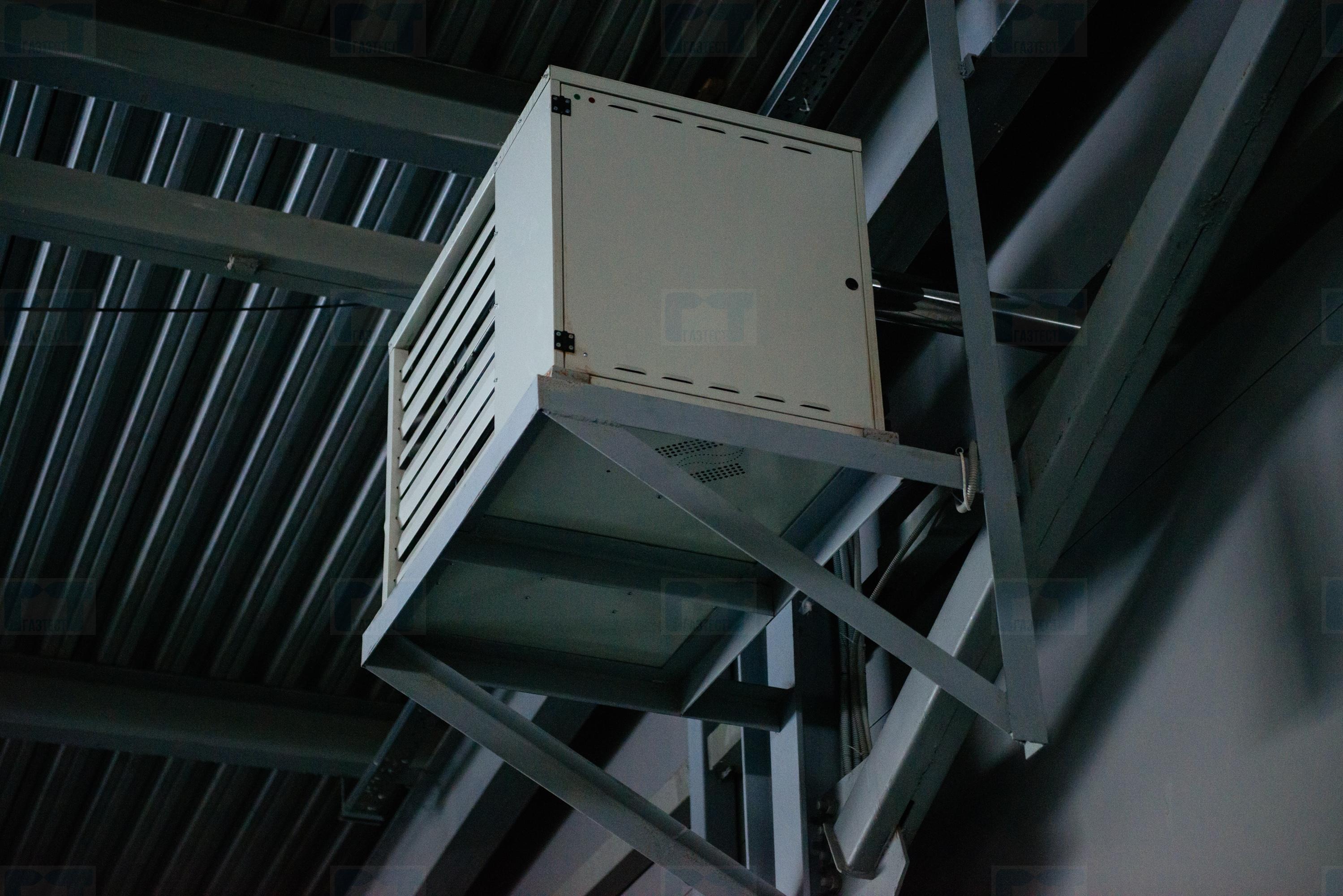 Газовые воздушные теплогенераторы carlieuklima