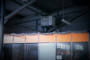 Газовые воздухонагреватели для склада