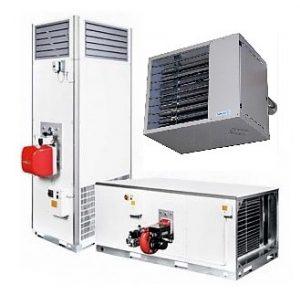газовые рекуперативные воздухонагреватели
