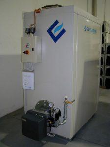 Отопление мастерской теплогенератором