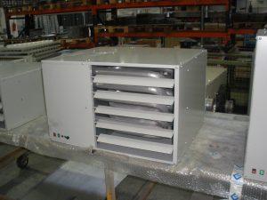 Воздухонагреватель газовый для отопления складских и промышленных помещений