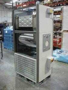 Газовый воздухонагреватель промышленный стационарный