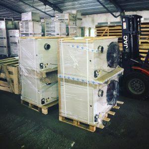 Подвесной газовый воздухонагреватель EUGEN S