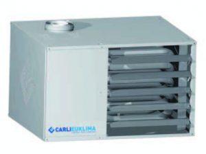 Газовый теплогенератор воздушного отопления подвесной