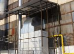 Гaзовый воздухонагреватель стационарный промышленный