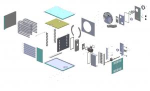 Комплект поставки газового воздухонагревателя EUGEN S