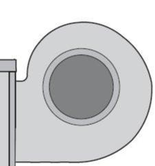 Центробежный вентилятор дымосос Carlieuklima
